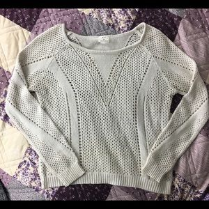 Pins and Needles open knit sweater Sz M